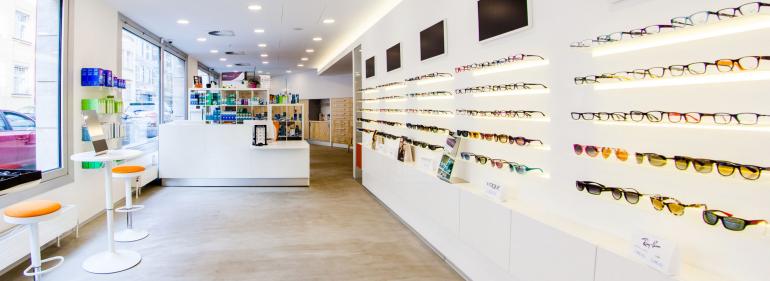 Prodejna Čočkyshop - centrum kontaktních čoček a brýlí, Praha 8