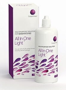Roztok All In One Light 360ml s pouzdrem