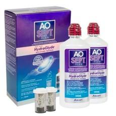 Roztok Aosept Plus HydraGlyde 2 x 360ml s pouzdry