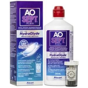 Roztok Aosept Plus HydraGlyde 360ml s pouzdrem