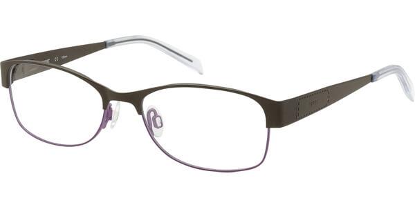 Dioptrické brýle Esprit model 17317, barva obruby hnědá fialová mat, stranice hnědá mat, kód barevné varianty 535.