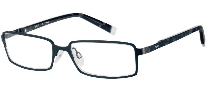 Dioptrické brýle Esprit model 17384, barva obruby černá mat, stranice černá mat, kód barevné varianty 538.