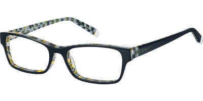 Dioptrické brýle Esprit model 17415, barva obruby černá lesk, stranice černá lesk, kód barevné varianty 538.