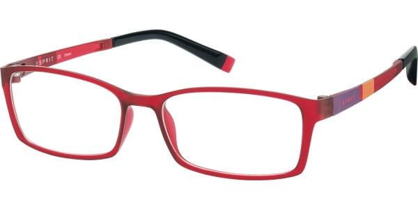 Dioptrické brýle Esprit model 17422, barva obruby červená mat, stranice červená oranžová fialová mat, kód barevné varianty 531.