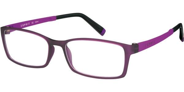 Dioptrické brýle Esprit model 17422, barva obruby vínová mat, stranice fialová mat, kód barevné varianty 534.