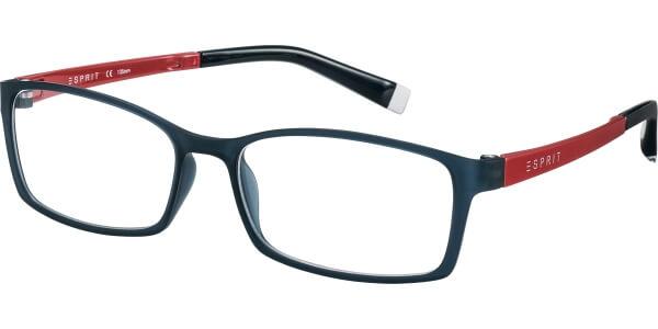Dioptrické brýle Esprit model 17422, barva obruby černá mat, stranice červená lesk, kód barevné varianty 543.