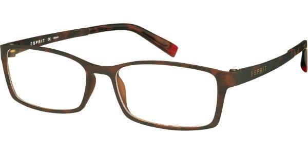 Dioptrické brýle Esprit model 17422, barva obruby hnědá mat, stranice hnědá mat, kód barevné varianty 545.