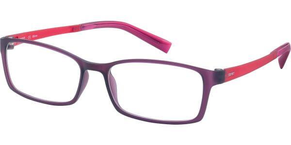 Dioptrické brýle Esprit model 17422, barva obruby fialová mat, stranice červená mat, kód barevné varianty 546.