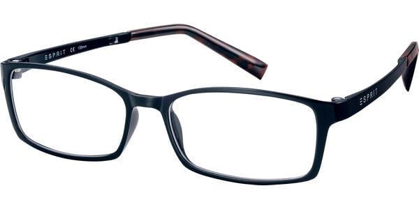 Dioptrické brýle Esprit model 17422, barva obruby černá mat, stranice černá mat, kód barevné varianty 586.