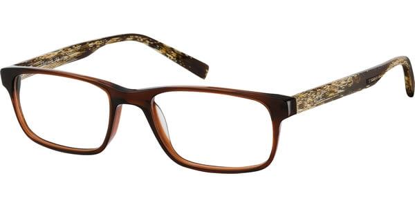 Dioptrické brýle Esprit model 17423, barva obruby hnědá lesk, stranice hnědá béžová mat, kód barevné varianty 535.