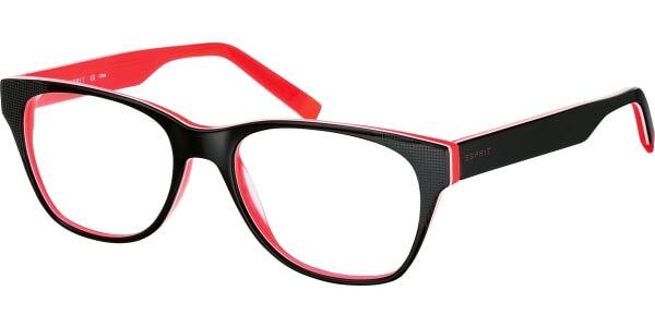 Dioptrické brýle Esprit model 17424, barva obruby černá lesk, stranice černá lesk, kód barevné varianty 531.