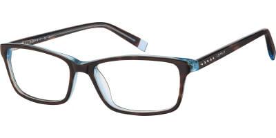 Dioptrické brýle Esprit model 17434, barva obruby hnědá lesk, stranice hnědá lesk, kód barevné varianty 532.
