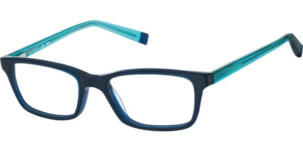 Dioptrické brýle Esprit model 17442, barva obruby modrá lesk, stranice tyrkysová lesk, kód barevné varianty 543.
