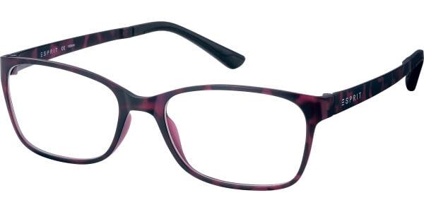 Dioptrické brýle Esprit model 17444, barva obruby fialová mat, stranice fialová mat, kód barevné varianty 514.