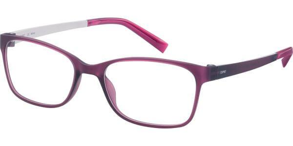 Dioptrické brýle Esprit model 17444, barva obruby fialová mat, stranice fialová bílá mat, kód barevné varianty 546.