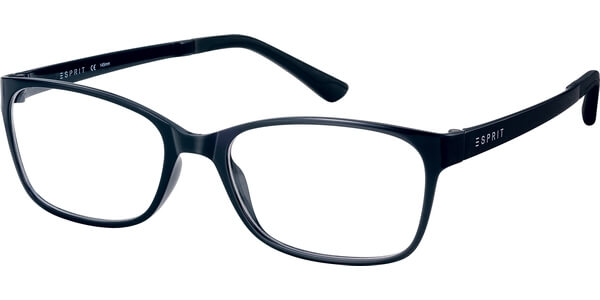 Dioptrické brýle Esprit model 17444, barva obruby černá lesk, stranice černá lesk, kód barevné varianty 586.