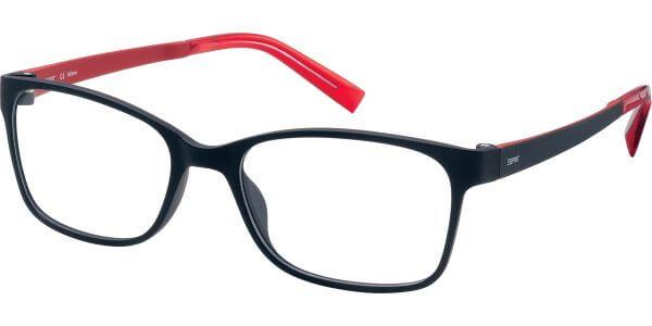 Dioptrické brýle Esprit model 17444, barva obruby černá mat, stranice černá červená mat, kód barevné varianty 587.