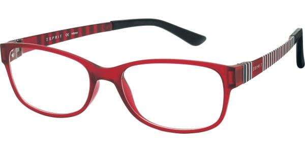 Dioptrické brýle Esprit model 17445, barva obruby červená mat, stranice červená bílá modrá mat, kód barevné varianty 517.