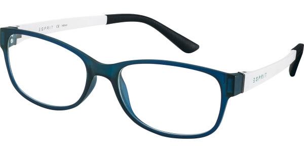 Dioptrické brýle Esprit model 17445, barva obruby modrá mat, stranice bílá mat, kód barevné varianty 547.