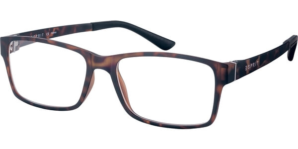 Dioptrické brýle Esprit model 17446, barva obruby hnědá mat, stranice hnědá mat, kód barevné varianty 503.