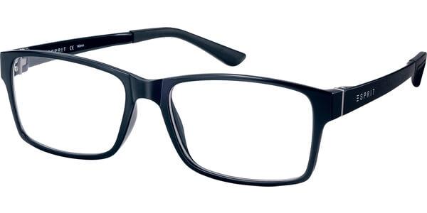 Dioptrické brýle Esprit model 17446, barva obruby černá lesk, stranice černá lesk, kód barevné varianty 586.