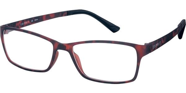 Dioptrické brýle Esprit model 17447, barva obruby hnědá mat, stranice hnědá mat, kód barevné varianty 503.