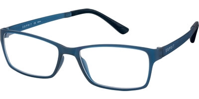 Dioptrické brýle Esprit model 17447, barva obruby modrá mat, stranice modrá mat, kód barevné varianty 508.