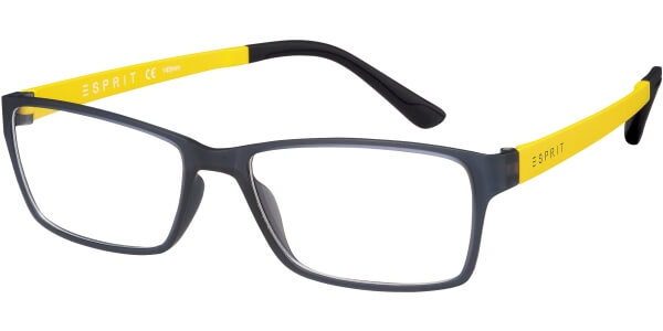 Dioptrické brýle Esprit model 17447, barva obruby šedá mat, stranice žlutá mat, kód barevné varianty 543.