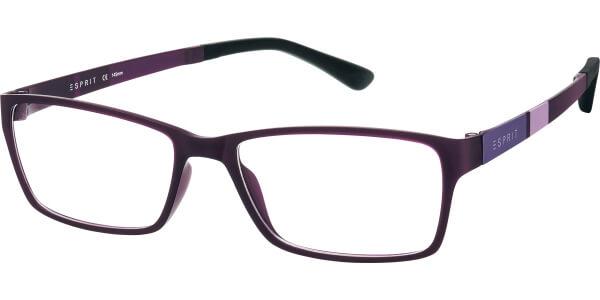 Dioptrické brýle Esprit model 17447, barva obruby vínová mat, stranice fialová mat, kód barevné varianty 577.