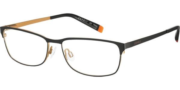 Dioptrické brýle Esprit model 17450, barva obruby černá oranžová mat, stranice černá oranžová mat, kód barevné varianty 538.