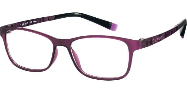 Dioptrické brýle Esprit model 17457, barva obruby fialová mat, stranice fialová mat, kód barevné varianty 534.