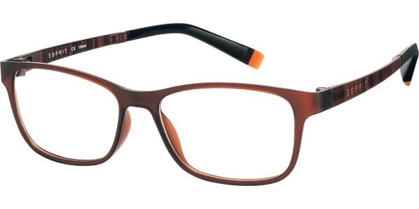 Dioptrické brýle Esprit model 17457, barva obruby hnědá mat, stranice hnědá mat, kód barevné varianty 535.