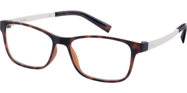 Dioptrické brýle Esprit model 17457, barva obruby hnědá mat, stranice bílá mat, kód barevné varianty 545.