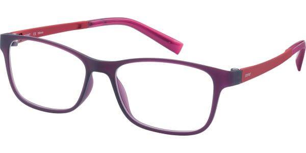Dioptrické brýle Esprit model 17457, barva obruby fialová mat, stranice červená mat, kód barevné varianty 546.
