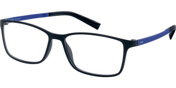 Dioptrické brýle Esprit model 17464, barva obruby černá mat, stranice modrá mat, kód barevné varianty 523.