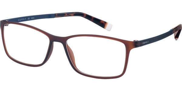Dioptrické brýle Esprit model 17464, barva obruby hnědá mat, stranice hnědá mat, kód barevné varianty 535.