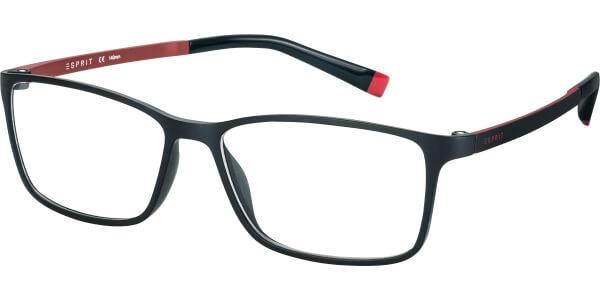 Dioptrické brýle Esprit model 17464, barva obruby černá mat, stranice černá červená mat, kód barevné varianty 538.