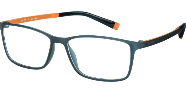 Dioptrické brýle Esprit model 17464, barva obruby modrá mat, stranice černá oranžová mat, kód barevné varianty 543.