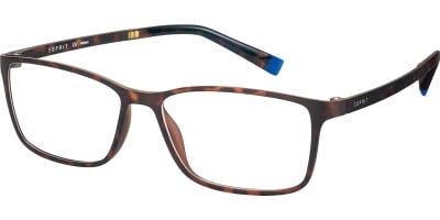 Dioptrické brýle Esprit model 17464, barva obruby hnědá mat, stranice hnědá mat, kód barevné varianty 545.