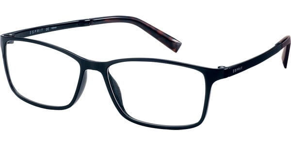 Dioptrické brýle Esprit model 17464, barva obruby černá lesk, stranice černá lesk, kód barevné varianty 586.