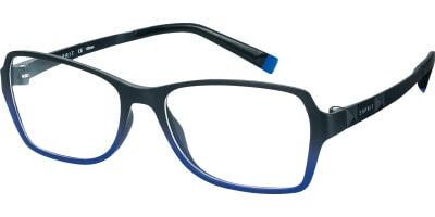 Dioptrické brýle Esprit model 17466, barva obruby černá modrá mat, stranice černá mat, kód barevné varianty 543.