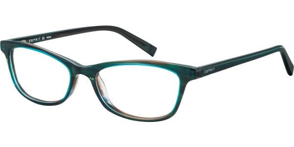 Dioptrické brýle Esprit model 17468, barva obruby zelená lesk, stranice zelená lesk, kód barevné varianty 527.