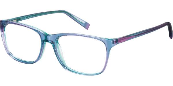 Dioptrické brýle Esprit model 17469, barva obruby fialová tyrkysová lesk, stranice fialová tyrkysová lesk, kód barevné varianty 543.