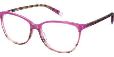 Dioptrické brýle Esprit model 17470, barva obruby růžová hnědá lesk, stranice růžová hnědá lesk, kód barevné varianty 534.