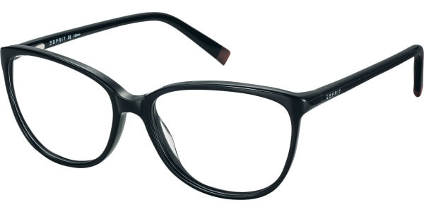 Dioptrické brýle Esprit model 17470, barva obruby černá lesk, stranice černá lesk, kód barevné varianty 538.