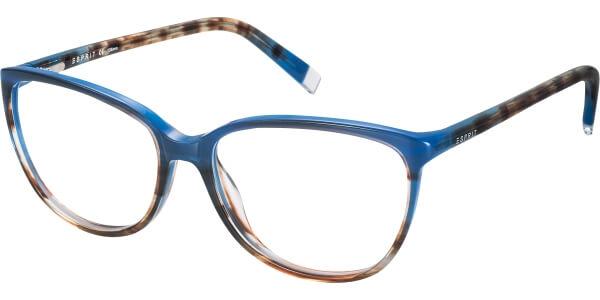 Dioptrické brýle Esprit model 17470, barva obruby modrá hnědá lesk, stranice modrá hnědá lesk, kód barevné varianty 543.