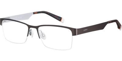 Dioptrické brýle Esprit model 17473, barva obruby hnědá stříbrná mat, stranice hnědá stříbrná mat, kód barevné varianty 535.