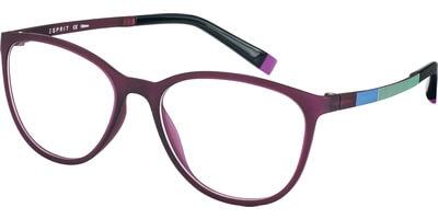 Dioptrické brýle Esprit model 17476, barva obruby fialová, stranice modrá žlutá mat, kód barevné varianty 534.