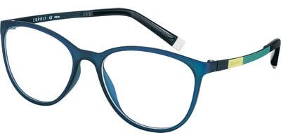 Dioptrické brýle Esprit model 17476, barva obruby modrá mat, stranice zelená žlutá mat, kód barevné varianty 547.