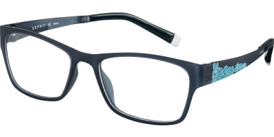 Dioptrické brýle Esprit model 17477, barva obruby šedá mat, stranice šedá modrá mat, kód barevné varianty 543.